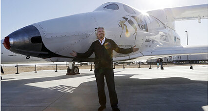 After crash, Virgin Galactic continues quest for space tourism