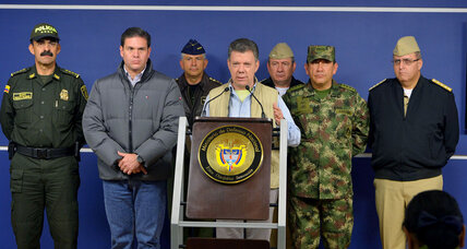 Colombia rebels seize top general, bringing halt to peace talks