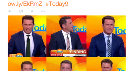 A TV anchor wore the same suit every day for a year. Why no one noticed