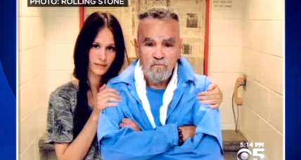 Charles Manson to wed a very young supporter