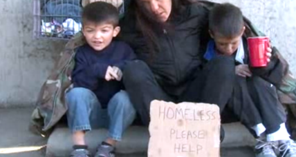 Child homelessness surges to nearly 2.5 million (+video)