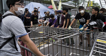 Both sides save face in Hong Kong as 'Umbrella' barricades come down (+video)