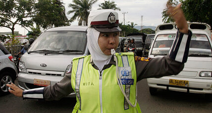 Why is Indonesia subjecting female police applicants to virginity tests?