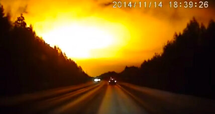 Mysterious burst of light over Russia leaves scientists, locals guessing (+video)