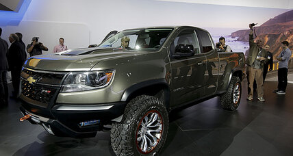 Diesel-powered Chevy Colorado ZR2 debuts at LA Auto Show
