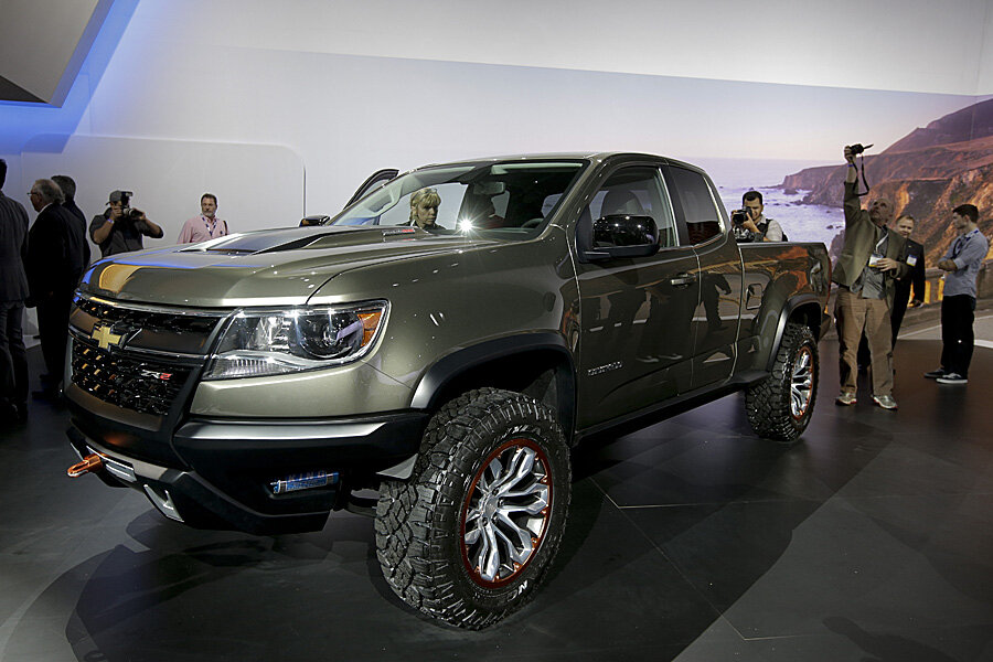 Diesel-powered Chevy Colorado ZR2 debuts at LA Auto Show ...