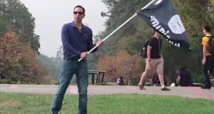 What happens if you wave an ISIS flag on Berkeley's campus?