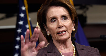 Nancy Pelosi and the terrible, horrible, no good, very bad job