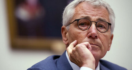 Chuck Hagel out as defense secretary. Bad fit from beginning?