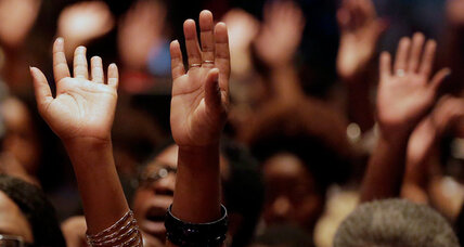 As Ferguson decision looms, black churches ready to step into breach (+video)