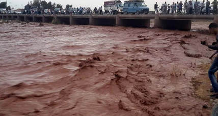 Intense flooding kills at least 32 in Morocco