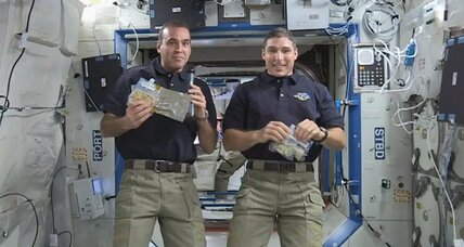 Thanksgiving in space: What's on the menu? (+video)