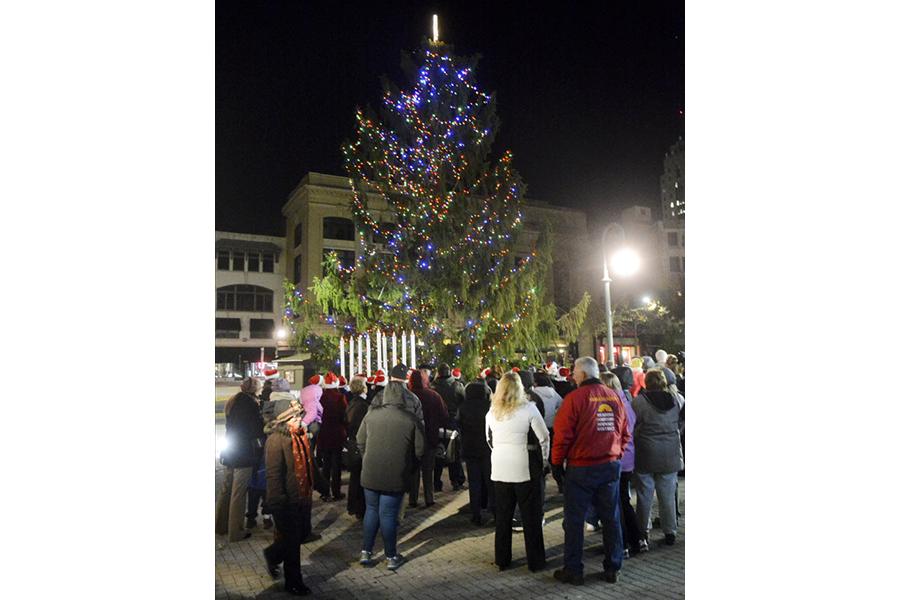 Ugly Christmas Tree.Ugly Christmas Tree Ruining Holiday Spirit To Be Removed