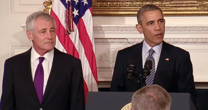 Defense Secretary Chuck Hagel to exit Obama administration