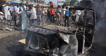 Teen girl suicide bombers kill 30 in Nigeria, Boko Haram suspected