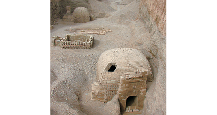 1,700-year-old cemetery discovered along Silk Road. Who's buried there?
