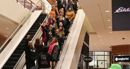Protesters on Black Friday: Will they reinvigorate outrage over Ferguson?