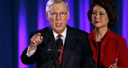 Mitch McConnell's big test