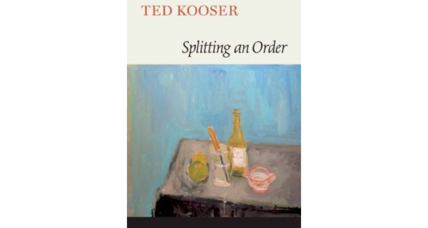 Ted Kooser admits: He'll never get around to reading everything