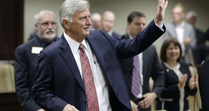 Arkansas governor to pardon son: A precedent for forgiveness?
