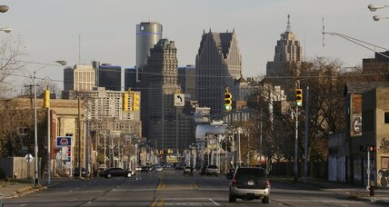 A model in Detroit's post-bankruptcy plan