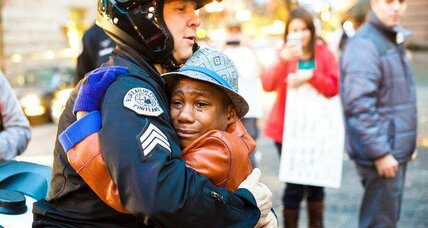 Devonte Hart, Sgt. Bret Barnum, and the hug felt 'round the world