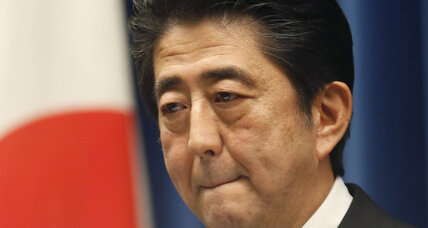 As economic doubts grow, Japan's Abe seeks fresh mandate from voters (+video)