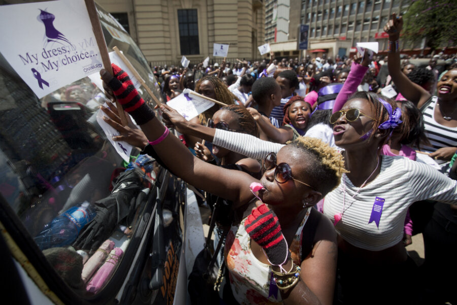 Angered By Assault, Women Take To Nairobi Streets In -3870