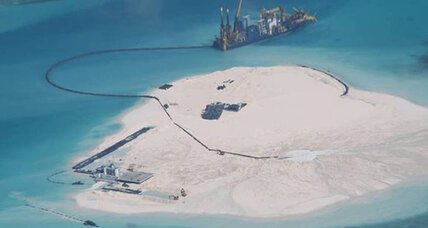 China dismisses US call to halt island construction project in South China Sea