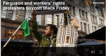 Black Friday disrupted, malls closed due to Ferguson protesters