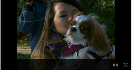 Recovered from Ebola, Dallas nurse reunites with her dog