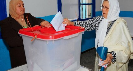 Tunisia's first free presidential vote looks headed for a runoff