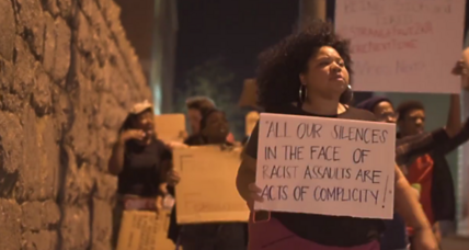 On college campuses, students stunned by 'demon' description of Michael Brown