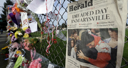 Marysville school shooting: 911 calls shed light on chaos, teacher's courage (+video)