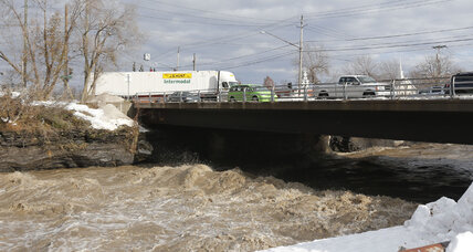 Flooding threat in Buffalo eases; wind still an issue