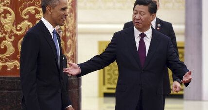 Even as Obama and Xi strike accords, a quiet tussle for leadership in Asia (+video)