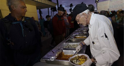 Arnold Abbott keeps feeding the homeless: Charity or crime?