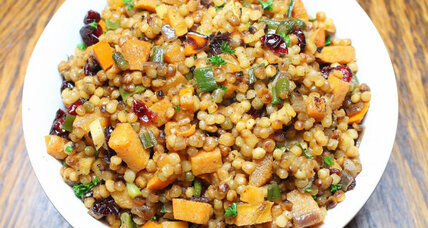 Thanksgiving side dish: Cranberry persimmon couscous