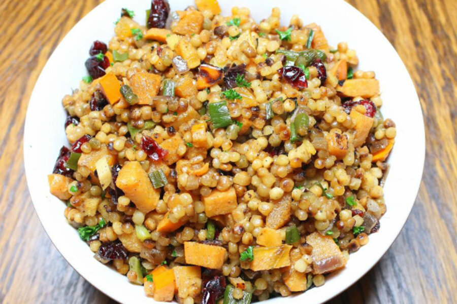 Thanksgiving side dish: Cranberry persimmon couscous ...