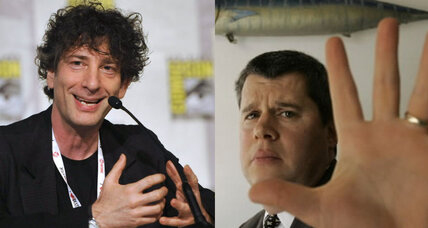Neil Gaiman, Daniel Handler team up to distribute books in New York City