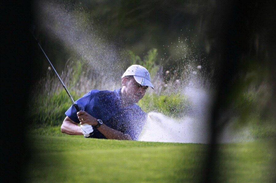 6e1b1006f7ff18 Obama golfing with Derek Jeter – but Shadow Creek may be the real star