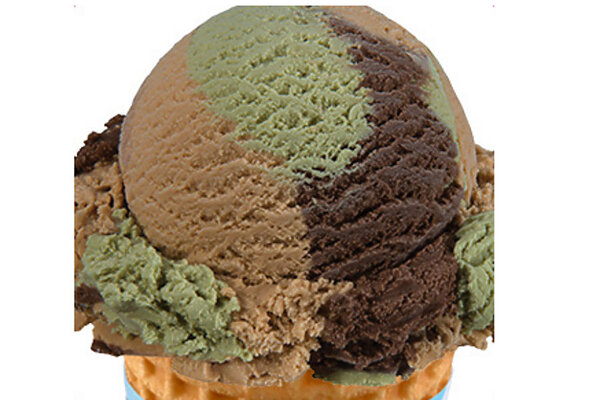 Why baskin robbins newest flavor is hard to spot csmonitor the november 2014 flavor of the month includes chocolate salty caramel and cake flavors baskin robbins ccuart Images