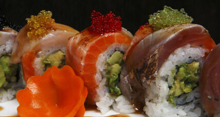 Sushi for Thanksgiving? The importance of making your own holiday traditions.