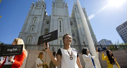 Mormon church says founder had about 40 wives