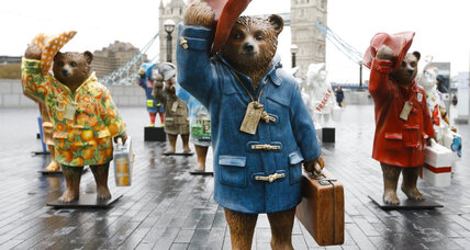 'Paddington' statues come to London ahead of movie's release