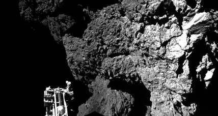 What did Philae learn in its first 57 hours on the comet?