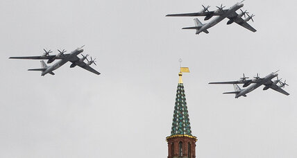 Russia bomber patrols near US shores: How provocative is that? (+video)