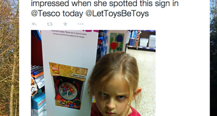 How a 7-year-old girl's trip to Tesco helped 'Let Toys Be Toys'