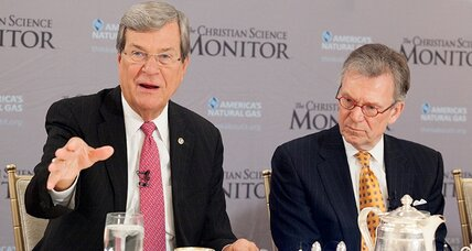 Want bipartisanship? Look to energy, former Senate leaders say (+video)