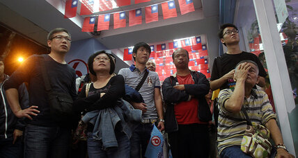 Taiwan election surprise: Voters reject China-friendly ruling KMT party (+video)
